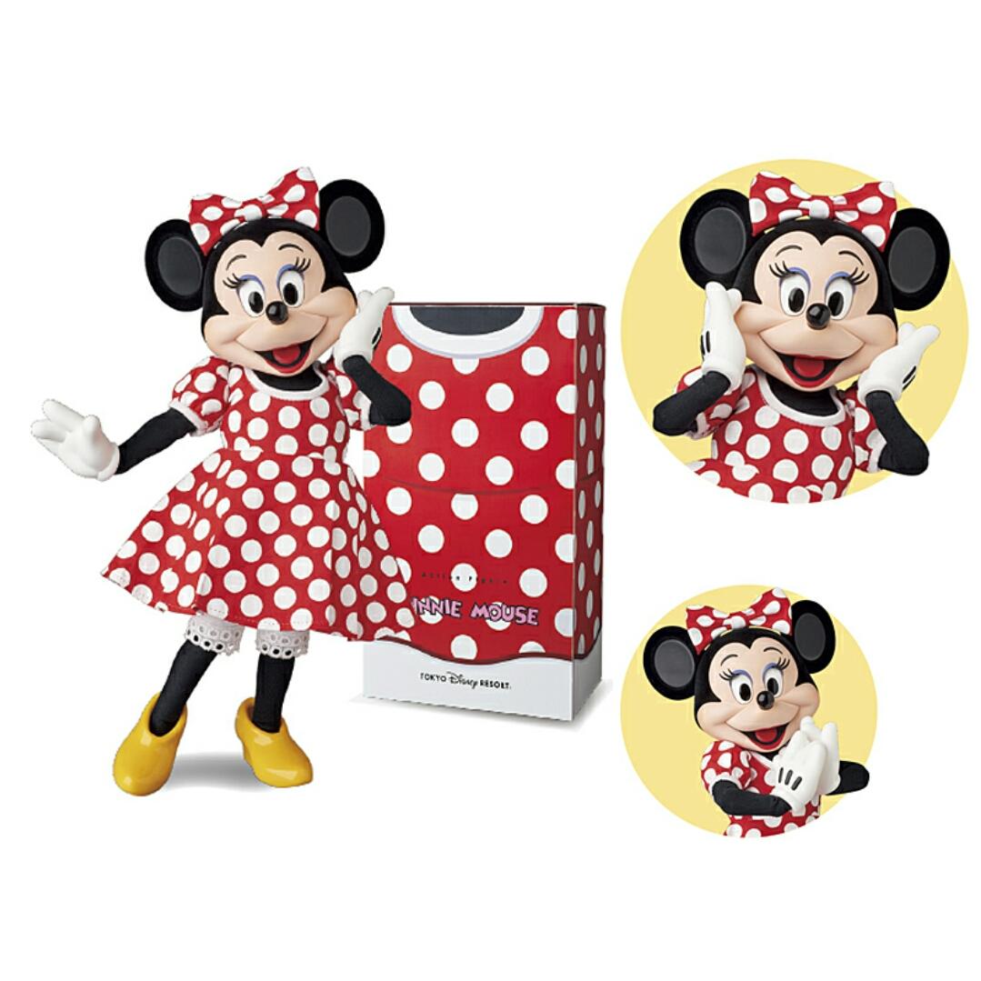 限定☆ミニーマウス ファンダフル ディズニー 会員 rah ドット柄 ドレス